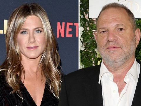 Jennifer Aniston accuses Harvey Weinstein of 'bullying' her into wearing Marchesa dress designed by his ex-wife