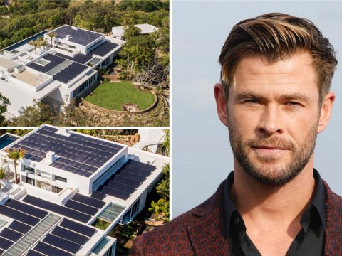 Chris Hemsworth installs hundreds of solar panels on £11million megamansion as family prepares to move in