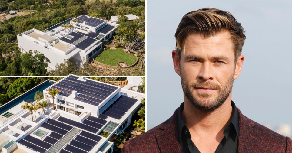 Chris Hemsworth's new home
