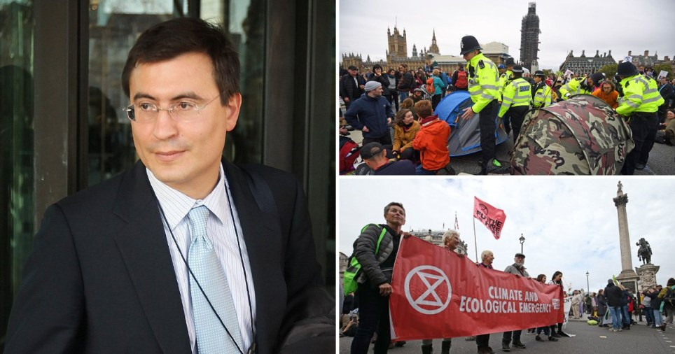 The investor worth £1,200,000,000 who is financially helping Extinction Rebellion
