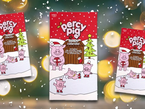 Rejoice, Marks & Spencer is bringing back the Percy Pigs advent calendar
