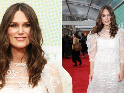 Keira Knightley is a goddess as she walks red carpet just weeks after giving birth