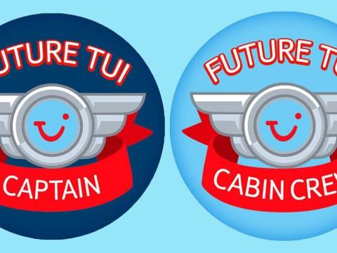 TUI Airways still issuing 'sexist' stickers to children on flights