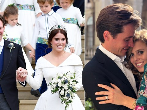 When did Princess Eugenie get married and when is Princess Beatrice marrying Edoardo Mapelli Mozzi?