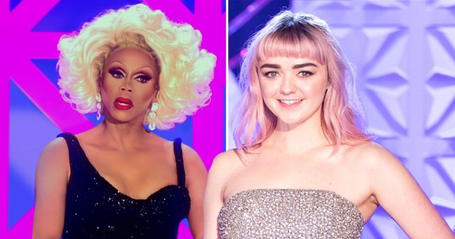 Game of Thrones star Maisie Williams was a guest judge on RuPaul's Draf Race UK
