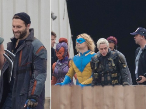 Pete Davidson channels inner superhero as The Suicide Squad set photos emerge