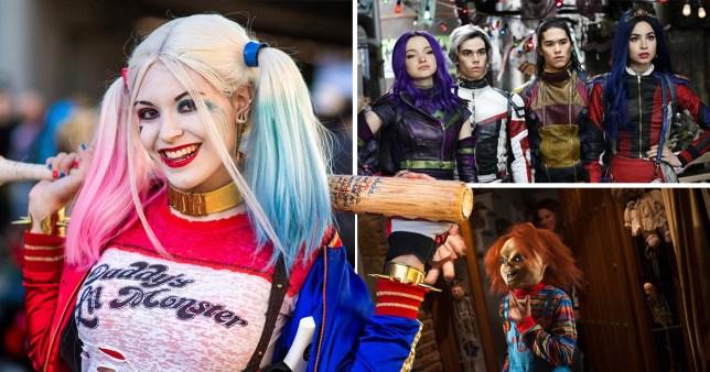 Harley Quinn, Descendants, and Chucky