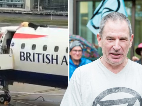 Ex-Paralympic cyclist who glued himself to plane denies public nuisance