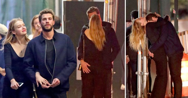 Liam Hemsworth and new girlfriend Maddison Brown enjoy passionate PDA on night out with pals