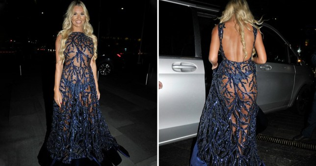 Christine McGuinness is absolutely bossing see-through dress at Manchester Fashion Festival