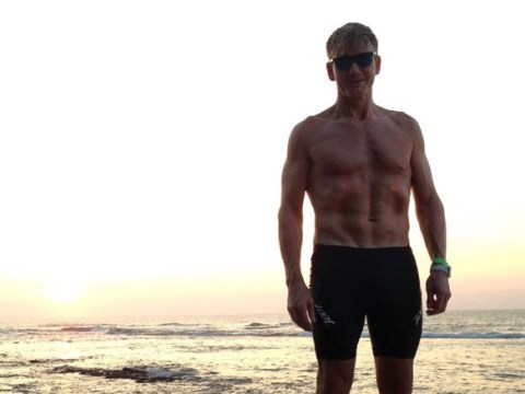 Thirsty Gordon Ramsay fans need a shower after chef shows off 6-pack in throwback