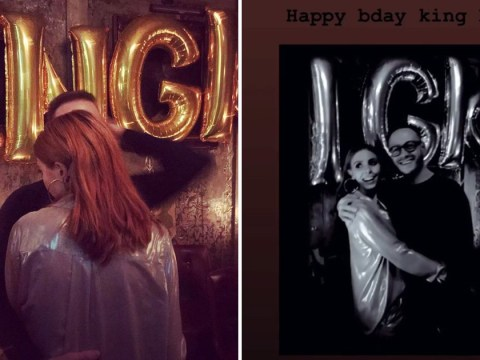 Stacey Dooley celebrates 'king' Kevin Clifton's birthday a day early so she can fly to Korea