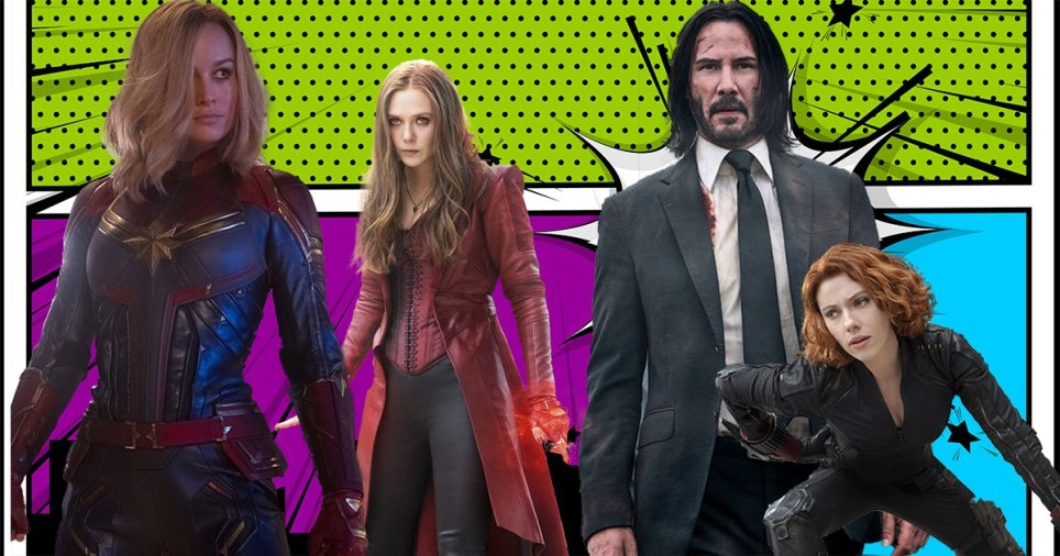 John Wick and Marvel stars