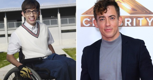 Kevin McHale in Glee, and now