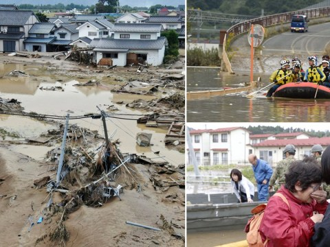 Over 100,000 rescuers dig through mud to find bodies buried by Typhoon Hagibis
