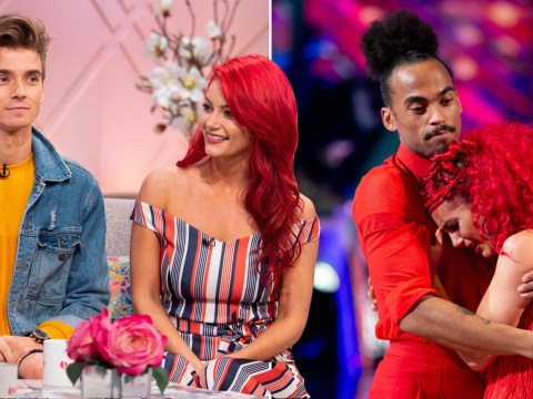 Dianne Buswell 'not ok' after controversial Dev Griffin Strictly Come Dancing exit: Joe Sugg reveals backstage reaction