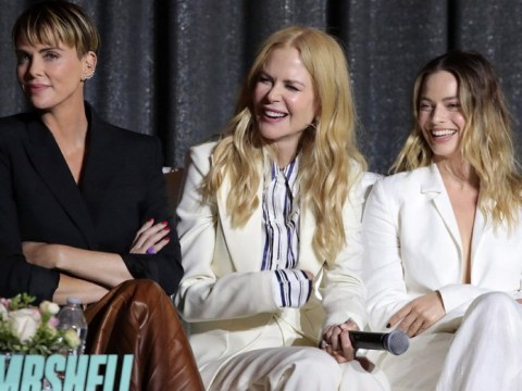 Nicole Kidman, Charlize Theron and Margot Robbie are one glorious girl gang at Bombshell screening