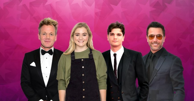Gordon Ramsay's daughter Matilda 'dating' Gino D'Acampo's son Luciano and we didn't know we needed this