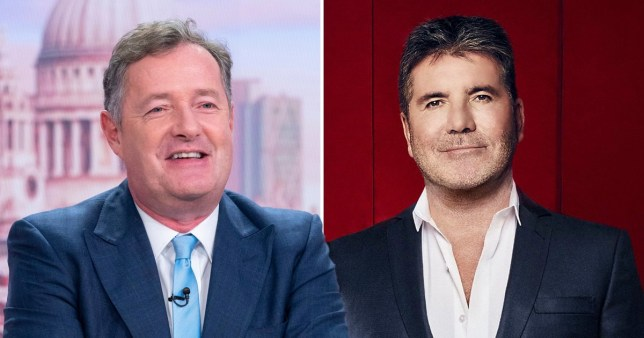 Piers Morgan claims Simon Cowell can't afford him to judge on Britain's Got Talent