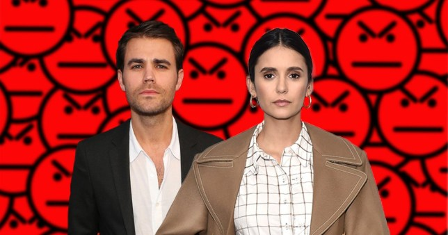 The Vampire Diaries' Nina Dobrev sets Paul Wesley feud rumours straight – kind of