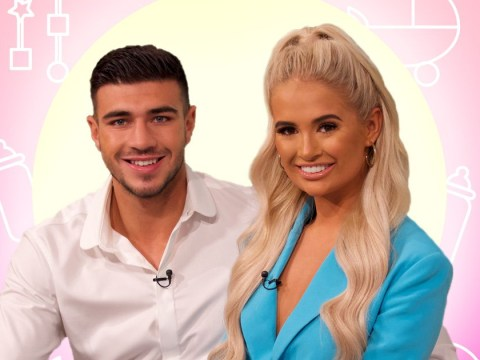 Love Island's Tommy Fury wants eight kids with Molly-Mae Hague as he jokes they're already trying