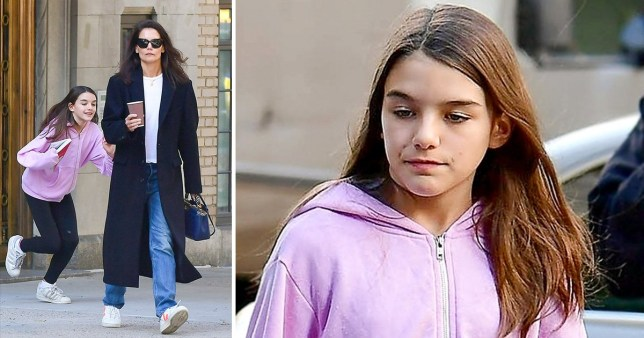 Suri Cruise 2020.Tom Cruise Daughter Suri Pictured Out With Mum Katie Holmes