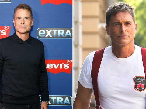 Rob Lowe brings the heat as a firefighter while filming 9-1-1: Lonestar