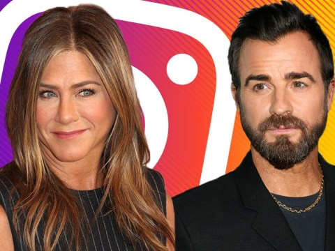 Jennifer Aniston follows Justin Theroux on Instagram after joining because they're friendly exes