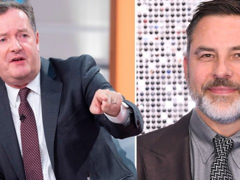 Piers Morgan slams 'snivelling' David Walliams for 'liking the nastiest tweets' about him