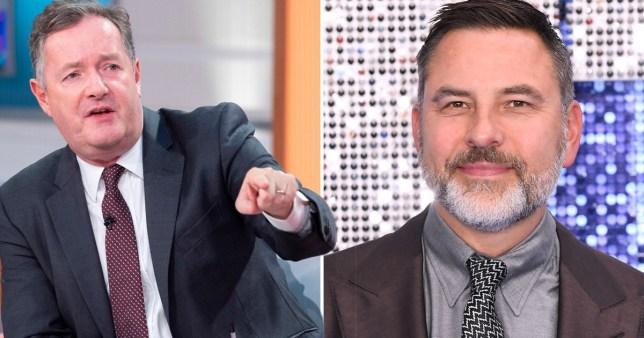 Piers Morgan and David Walliams
