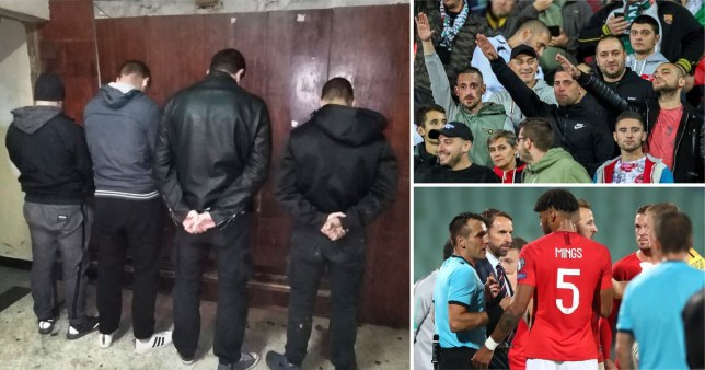 Four arrests over Nazi salutes and racism at England match in Bulgaria