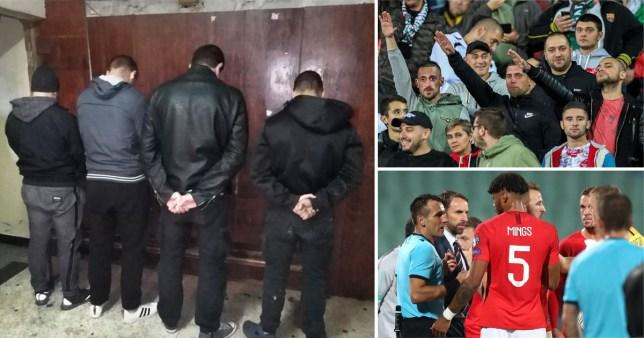 football racism england bulgaria match