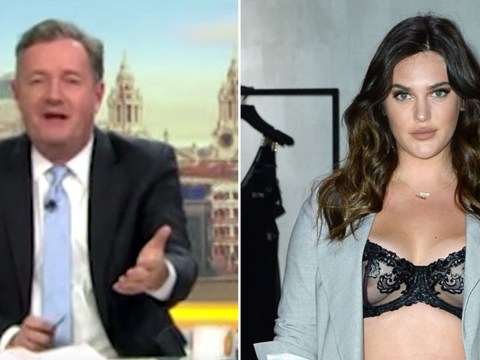 Piers Morgan claims he'll 'get arrested' for calling plus-sized model 'hot' on Good Morning Britain