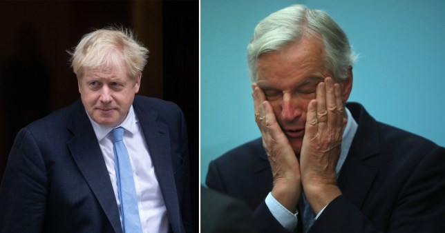 Boris and Barnier are still going head-to-head to attempt to agree a Brexit deal in time (Picture: PA)