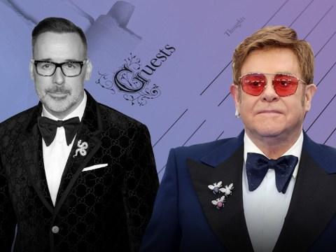 Elton John recalls wedding nightmare when he accidentally shredded guestlist featuring 500 names