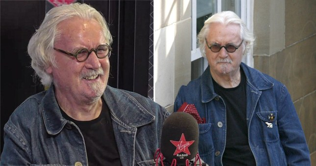 Billy Connolly says Parkinson's disease now makes him 'drool' but he's 'getting along with it'