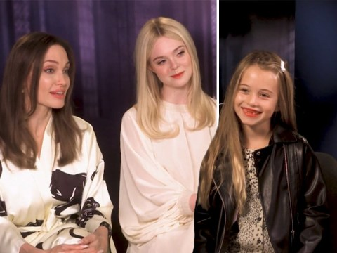 Amanda Holden's 7-year-old daughter interviews Angelina Jolie and we're not jealous, you are