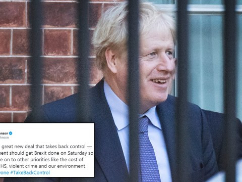 Boris says 'we've got a deal' despite DUP saying they can't stand by it