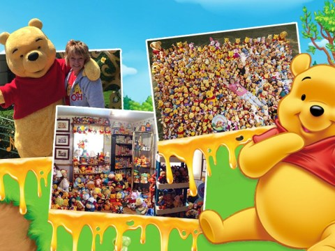 I'm Your Biggest Fan: Winnie-The-Pooh fanatic forks out $500,000 on toys