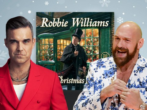 Robbie Williams to duet with Tyson Fury on Christmas album track about rowdy office party