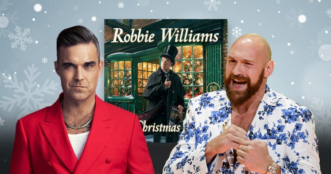 Robbie Williams Tyson Fury
