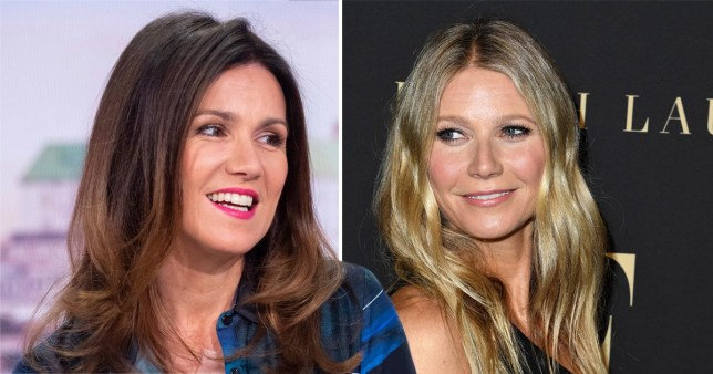 Susanna Reid and Gwyneth Paltrow