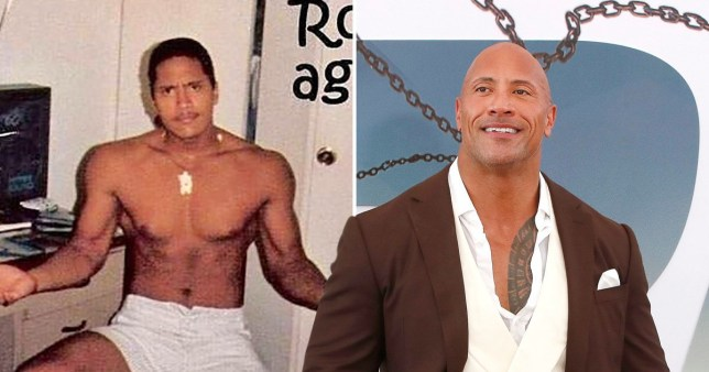 You can now see why The Rock's school thought he was an uncover cop at 15