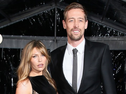 Peter Crouch gets ribbed by Chris Moyles over wife Abbey Clancy 'being out of his league'