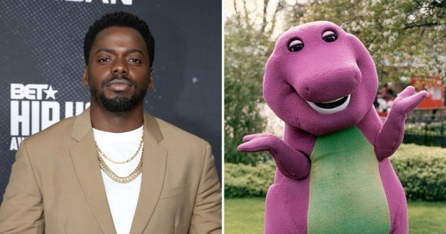 Daniel Kaluuya is working on a new Barney the Dinosaur movie and we're down for it