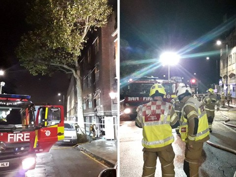More than 200 people evacuated from hostel after massive fire breaks out
