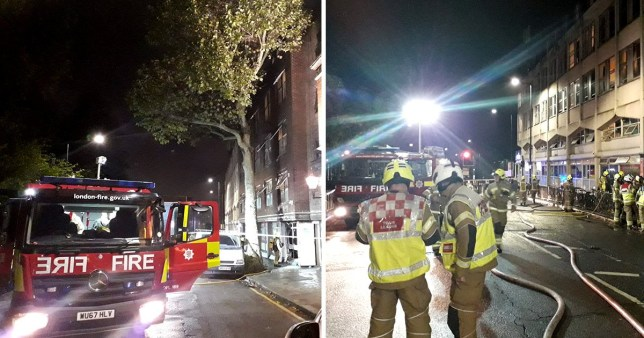 Kensal Green fire: More than 200 people evacuated following blaze
