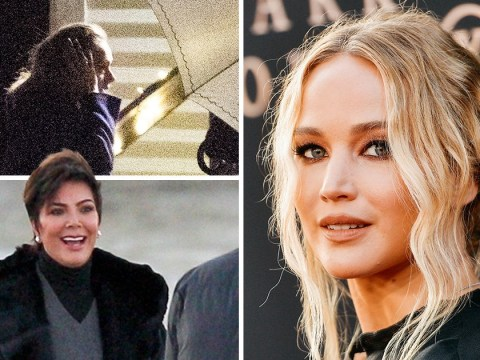 Adele, Kris Jenner and more arrive ahead of Jennifer Lawrence's star-studded wedding in Rhode Island