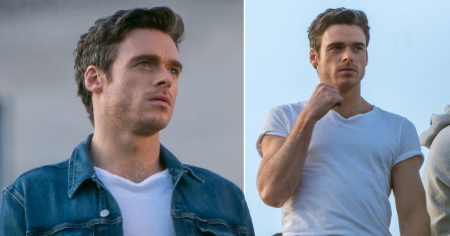 Richard Madden swaps Bodyguard for modelling world as he fronts Calvin Klein campaign