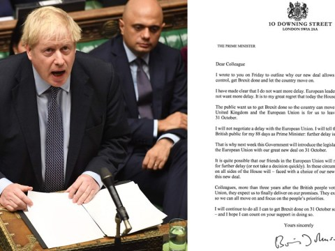 Boris Johnson sent EU three letters to make clear he really doesn't want Brexit delay